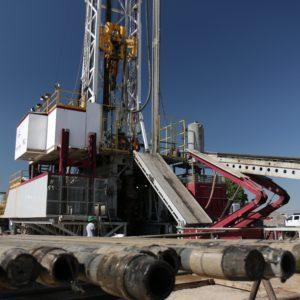 Bohrturm auf den Liegenschaften von Cub Creek Energy
