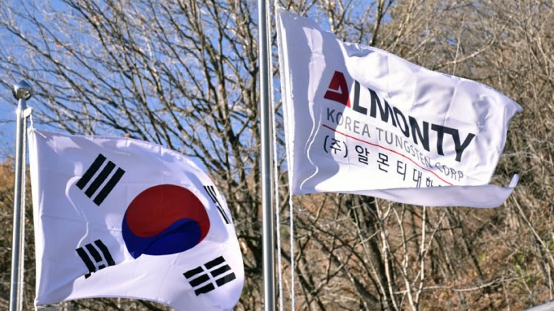 Almonty-southKorea