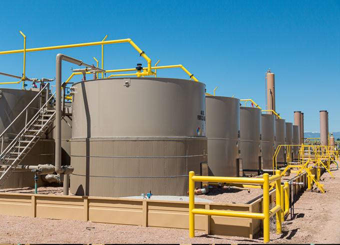 fertige Anlage zur Öl-undGasförderung